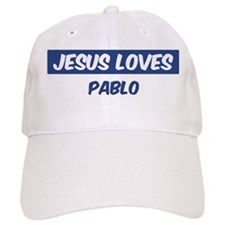 Jesus Loves Pablo Baseball Cap