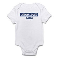 Jesus Loves Pablo Infant Bodysuit