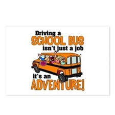 Driving a School Bus Postcards (Package of 8)