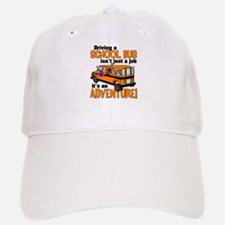 Driving a School Bus Baseball Baseball Cap