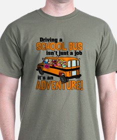 Driving a School Bus T-Shirt