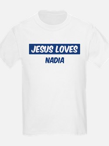 Jesus Loves Nadia T-Shirt
