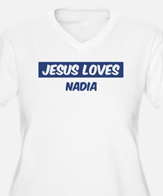 Jesus Loves Nadia T-Shirt