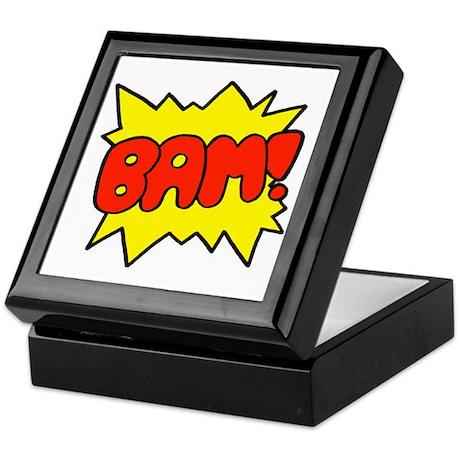 Comic 'Bam!' Keepsake Box