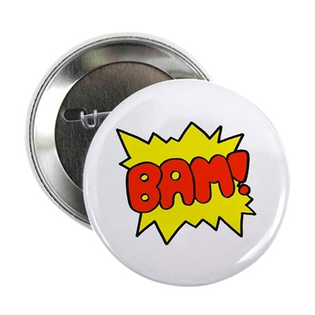"Comic 'Bam!' 2.25"" Button (10 pack)"