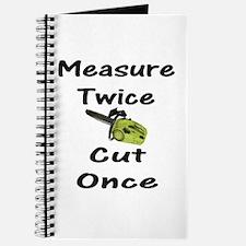 Measure Twice Journal
