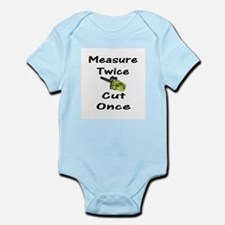 Measure Twice  Infant Creeper