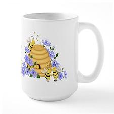Honey Bee Dance Ceramic Mugs