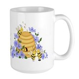 Honey bee Large Mugs (15 oz)