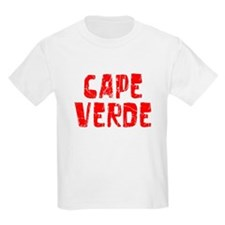 Cape Verde Faded (Red) T-Shirt