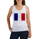 French Flag Women's Tank Top