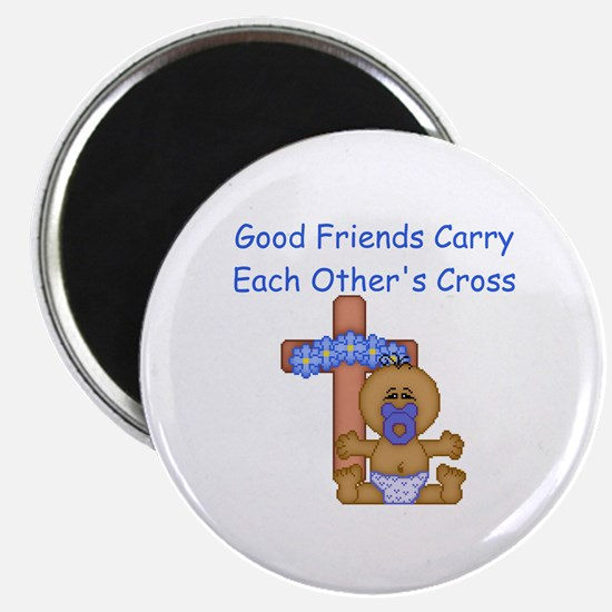 "Good Friends... 2.25"" Magnet (100 pack)"