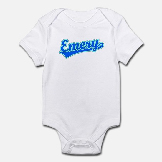 Retro Emery (Blue) Infant Bodysuit