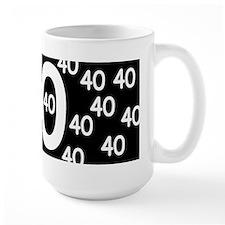 40th Birthday Ceramic Mugs