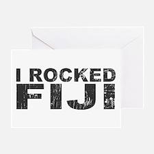 I Rocked Fiji Greeting Card