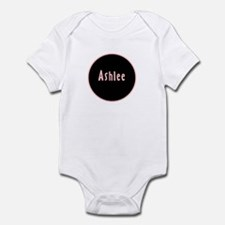 Ashlee - Pink Circle Infant Bodysuit