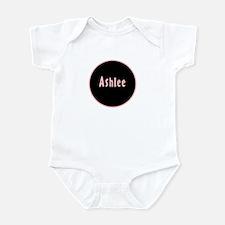 Ashlee - Pink Circle Onesie
