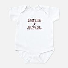 Ashlee - Name Team Infant Bodysuit