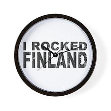 I Rocked Finland Wall Clock
