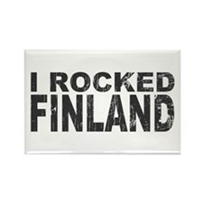 I Rocked Finland Rectangle Magnet