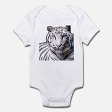 White Bengal Tiger Infant Bodysuit