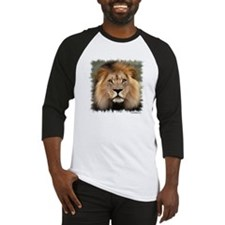 Lion Photograph Baseball Jersey