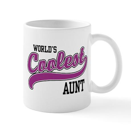 World's Coolest Aunt Mug