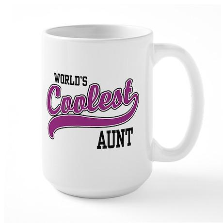 World's Coolest Aunt Large Mug