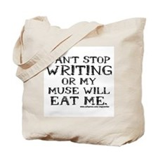 Can't Stop Writing Tote Bag