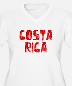 Costa Rica Faded (Red) T-Shirt