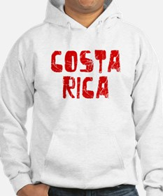 Costa Rica Faded (Red) Hoodie