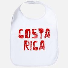 Costa Rica Faded (Red) Bib