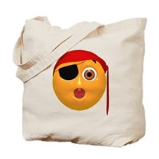 Oh No! Pirate Face Tote Bag
