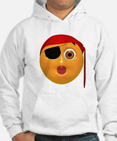 Oh No! Pirate Face Hoodie
