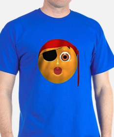 Oh No! Pirate Face T-Shirt