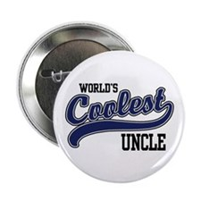 "World's Coolest Uncle 2.25"" Button"
