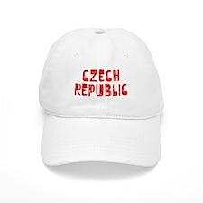 Czech Republic Faded (Red) Baseball Cap