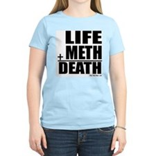 Life Plus Meth Women's Pink T-Shirt