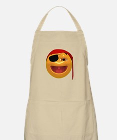 Laughing Pirate Face BBQ Apron