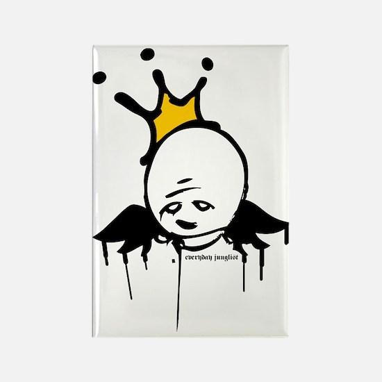 Graffiti King Rectangle Magnet