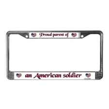 Proud Parent/Army License Plate Frame