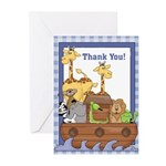 Noah's Ark Thank You Notes (Pk of 10)