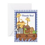 Noah's Ark Thank You Notes