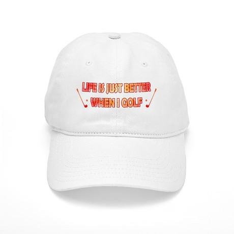 golf - life is just better Cap