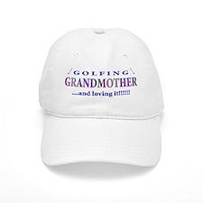 Golfing Grandmother Baseball Cap