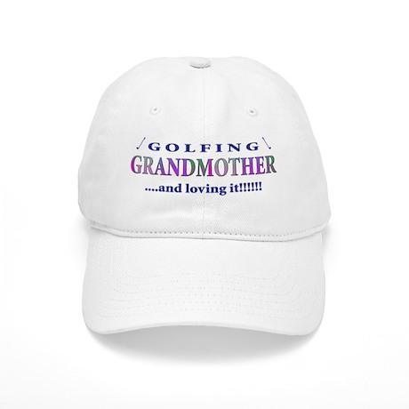Golfing Grandmother Cap