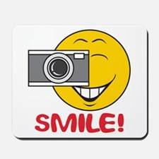 Photographer Smiley Face Mousepad