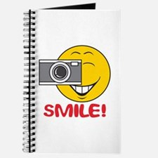 Photographer Smiley Face Journal