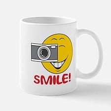 Photographer Smiley Face Mug