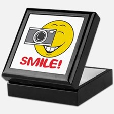 Photographer Smiley Face Keepsake Box